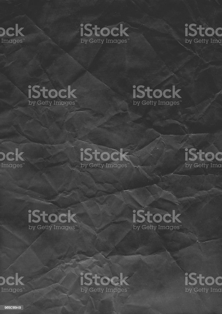 Black Paper royalty-free stock photo