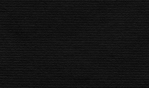 black paper texture background - corduroy stock pictures, royalty-free photos & images