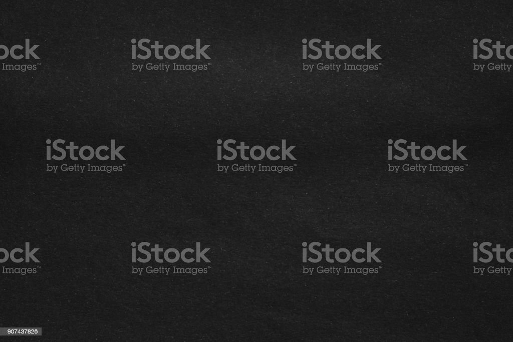 Black paper texture background stock photo