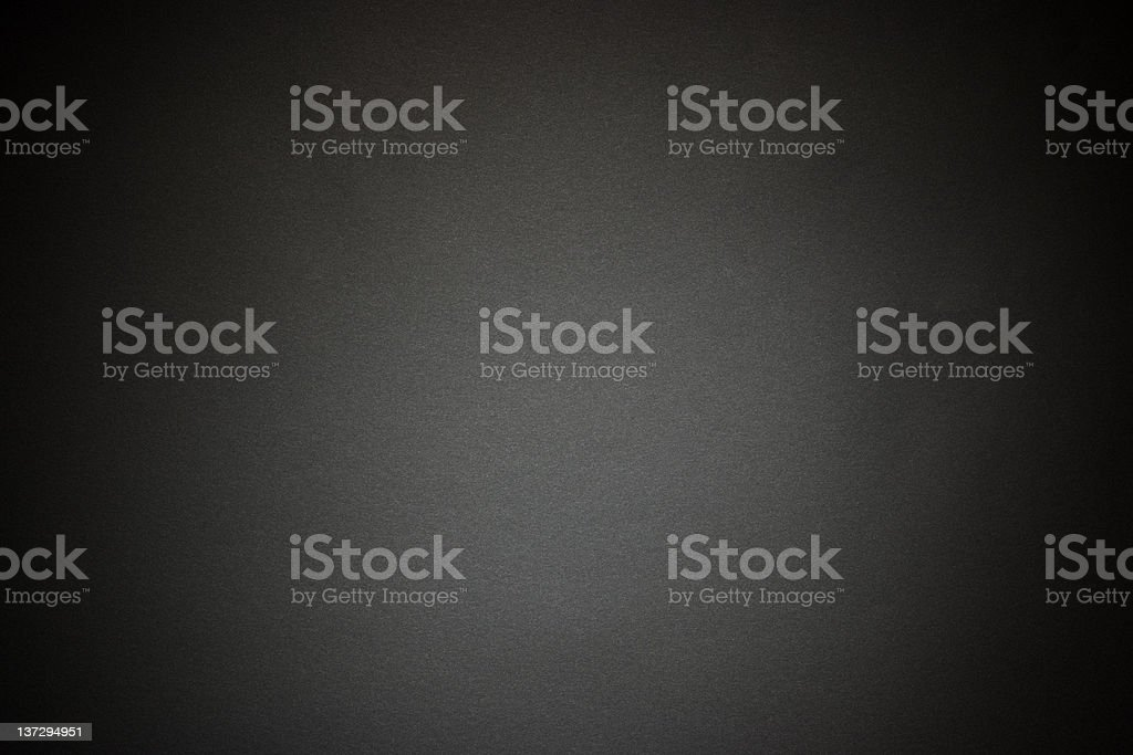 Black paper texture background with spotlight stock photo
