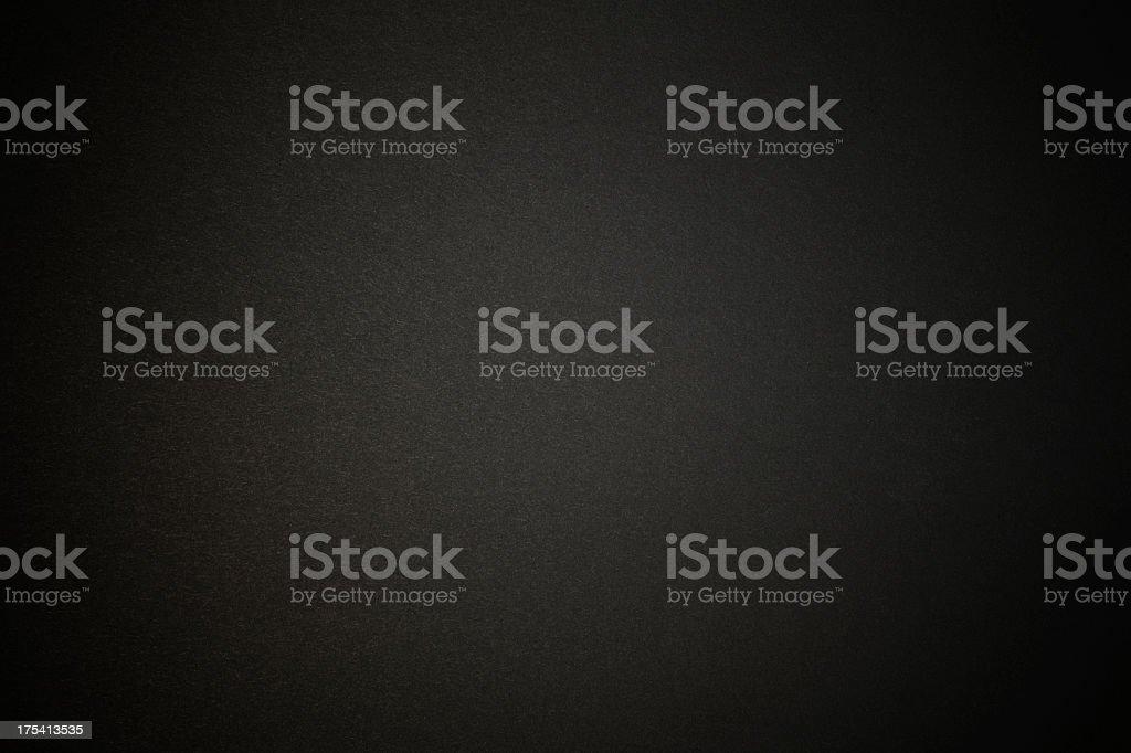 ブラックの紙テクスチャ背景にスポットライト ストックフォト