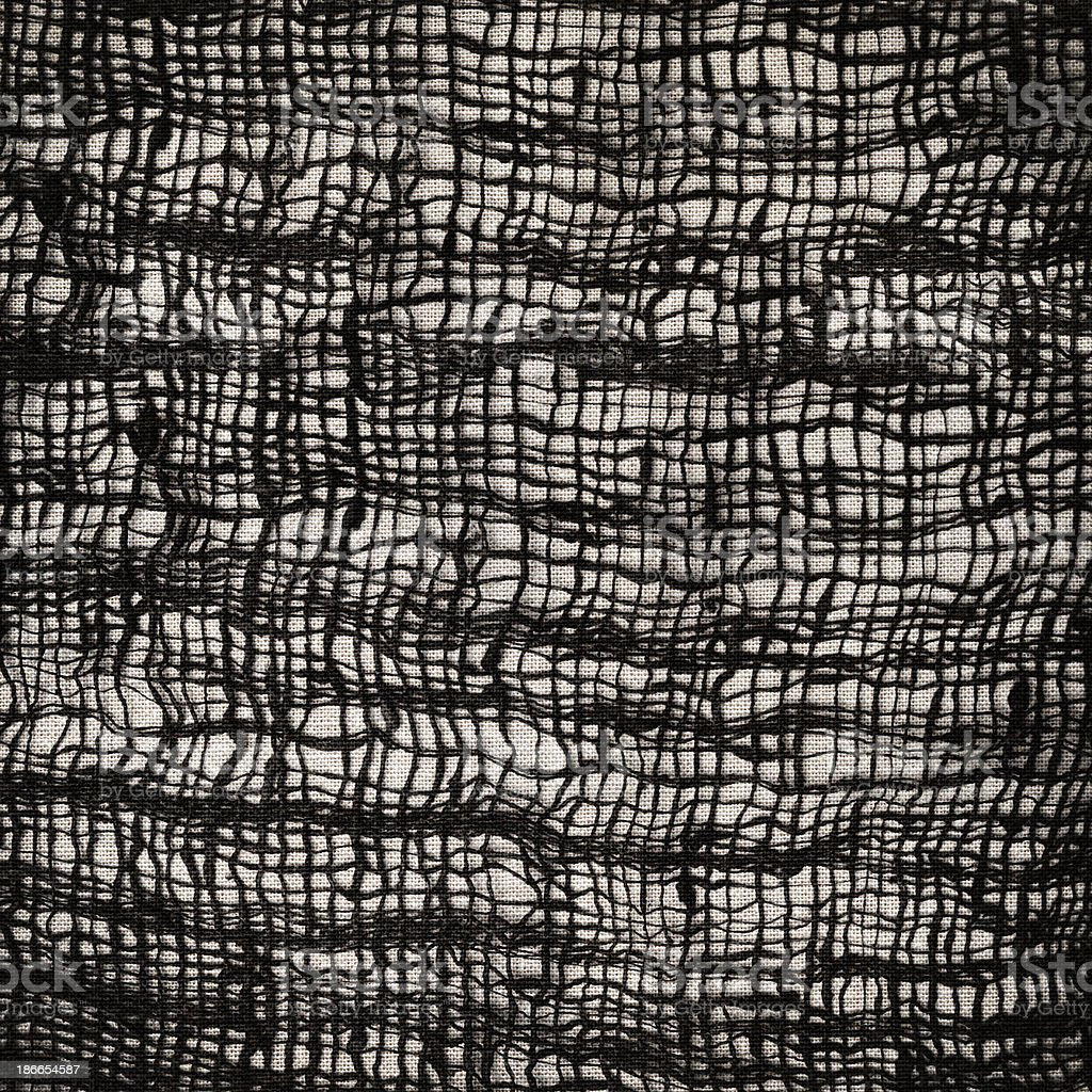 Black Patterned Textile royalty-free stock photo
