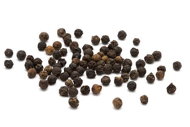 Black pepper stock photo