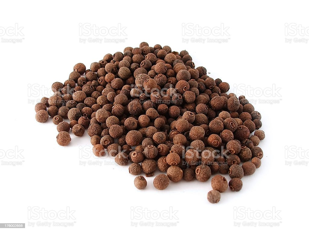 Black Peppercorns royalty-free stock photo