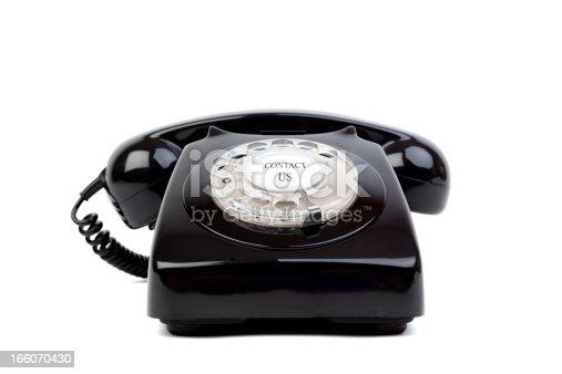 istock Black phone 166070430