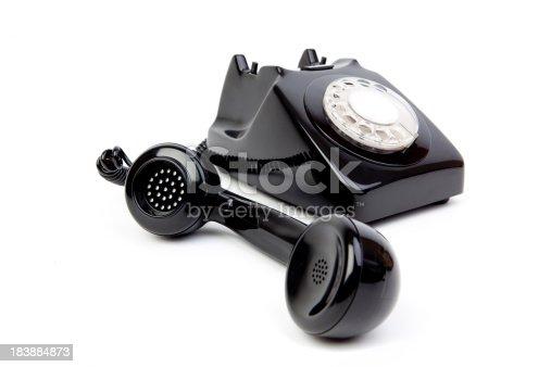 istock Black phone 183884873