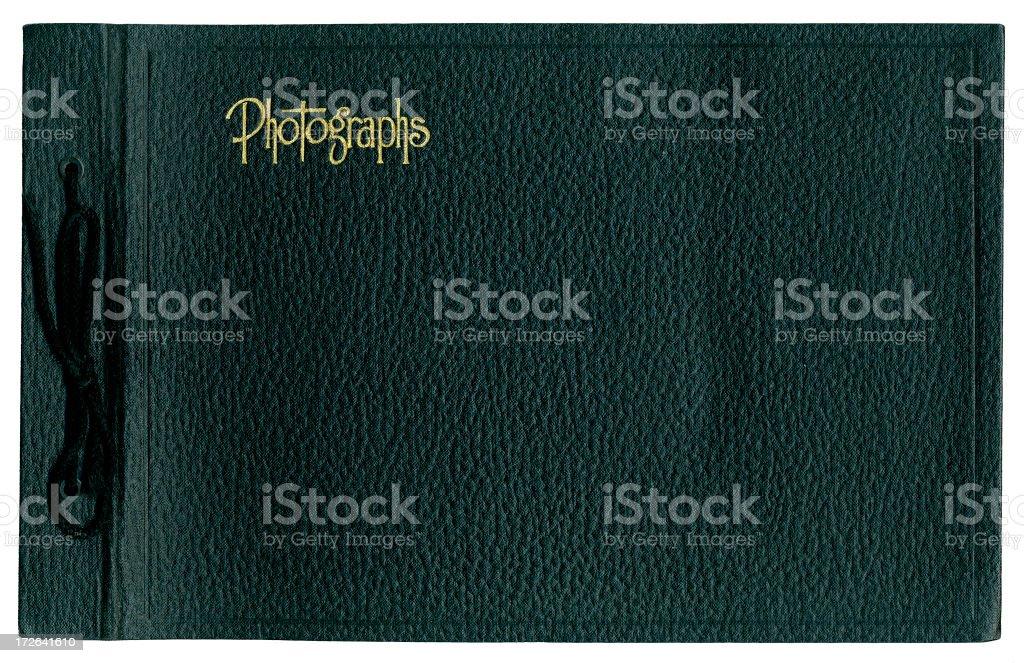 Black Photo Album Cover royalty-free stock photo