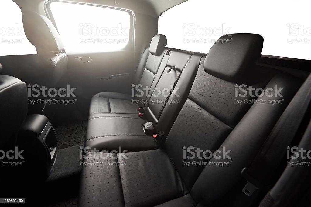 Black pickup back seat – Foto