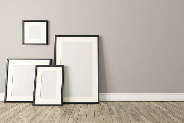 Royalty Free Picture Frames On Wall Pictures, Images and Stock ...