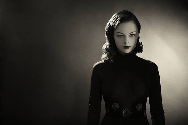 noir. - 1940s style stock photos and pictures
