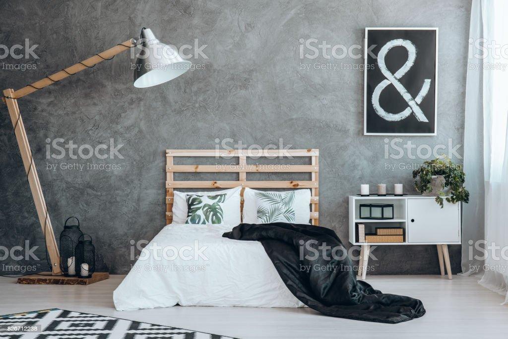 Image en noir avec panneau blanc - Photo de A la mode libre de droits