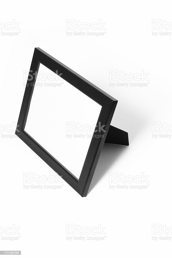 Black Picutre Frame royalty-free stock photo