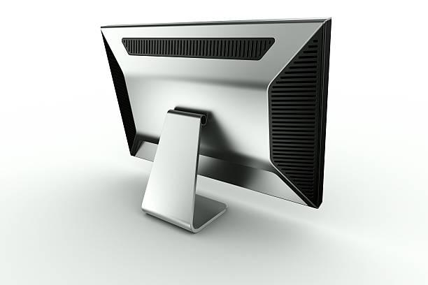 Gestell aus schwarzem Kunststoff und Aluminium – Foto