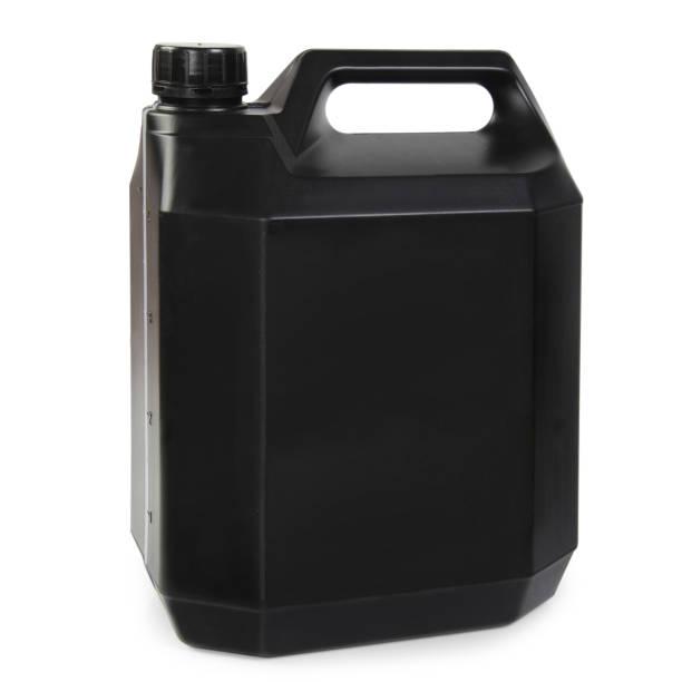Schwarzer Kunststoff Liter – Foto