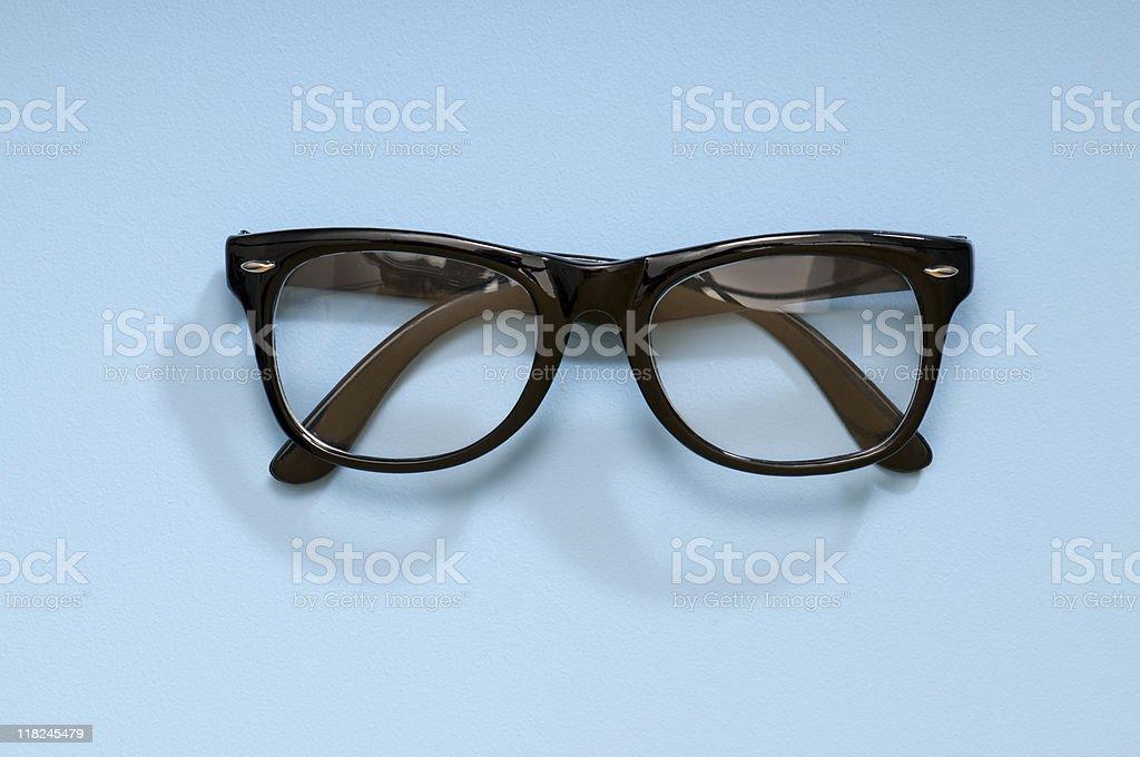 Black Plastic Glasses stock photo