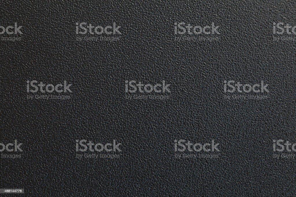 Black plastic material