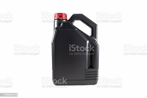Black plastic motor oil canister 5 litres isolated on white picture id1159384578?b=1&k=6&m=1159384578&s=612x612&h=6c 6djvaymyr gidwpz5uhbxmygh2obfktnhvxfnanq=