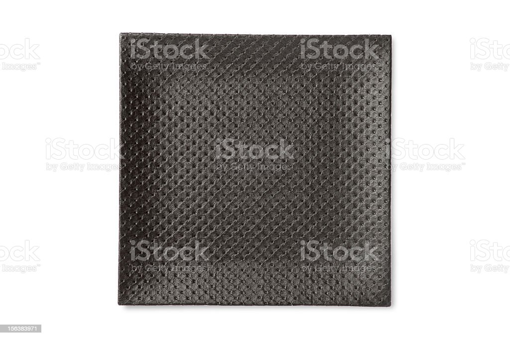 Black Plate royalty-free stock photo
