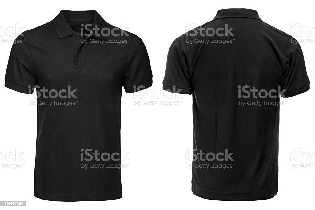 Siyah Polo gömlek, elbise - Royalty-free Alışveriş Stok görsel