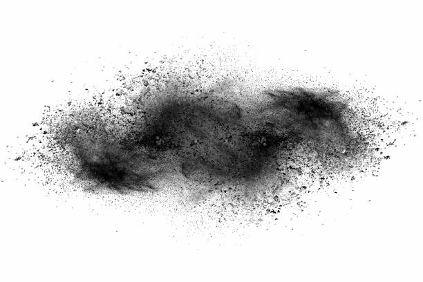 black powder stock photo