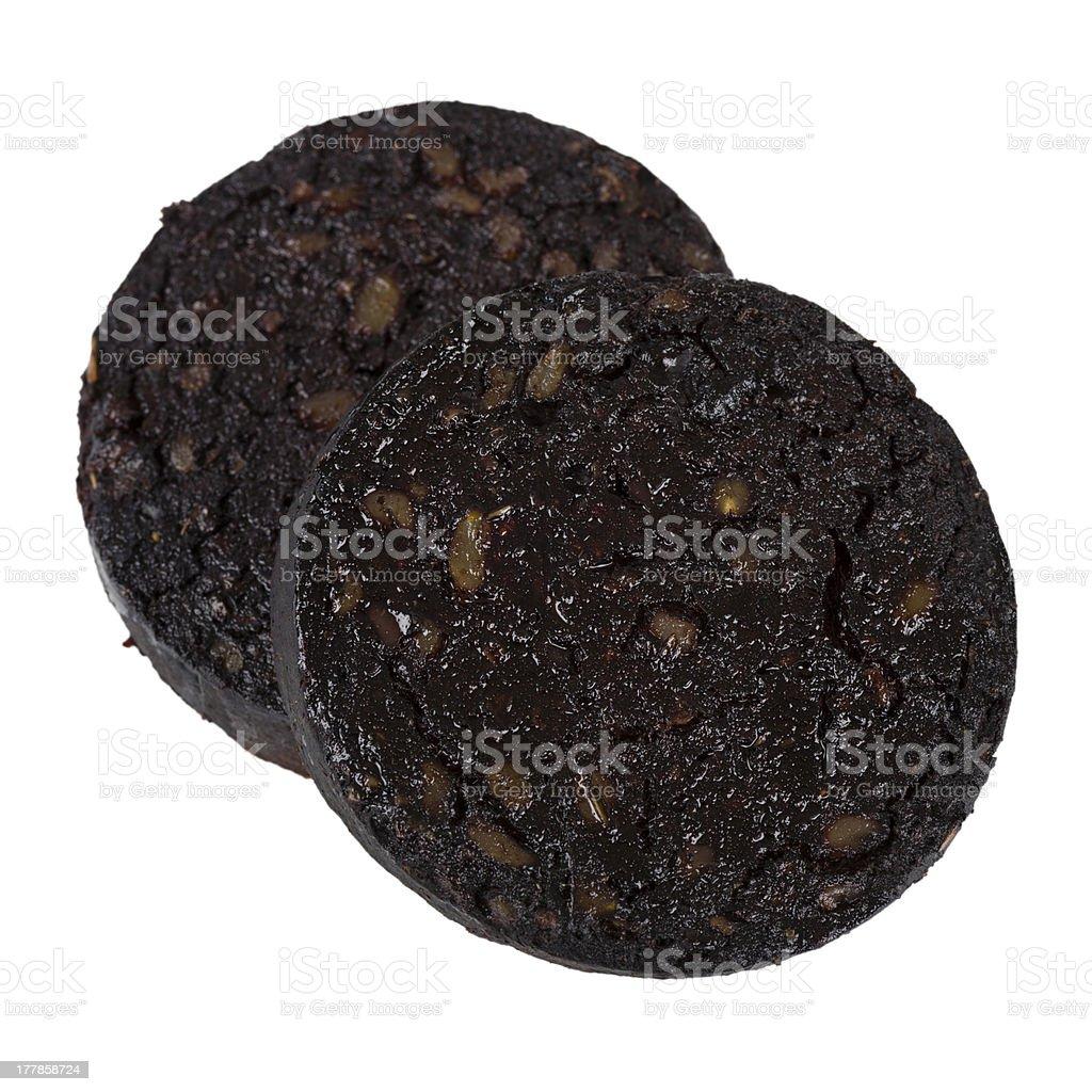Black Pudding - Royalty-free Animal Blood Stock Photo