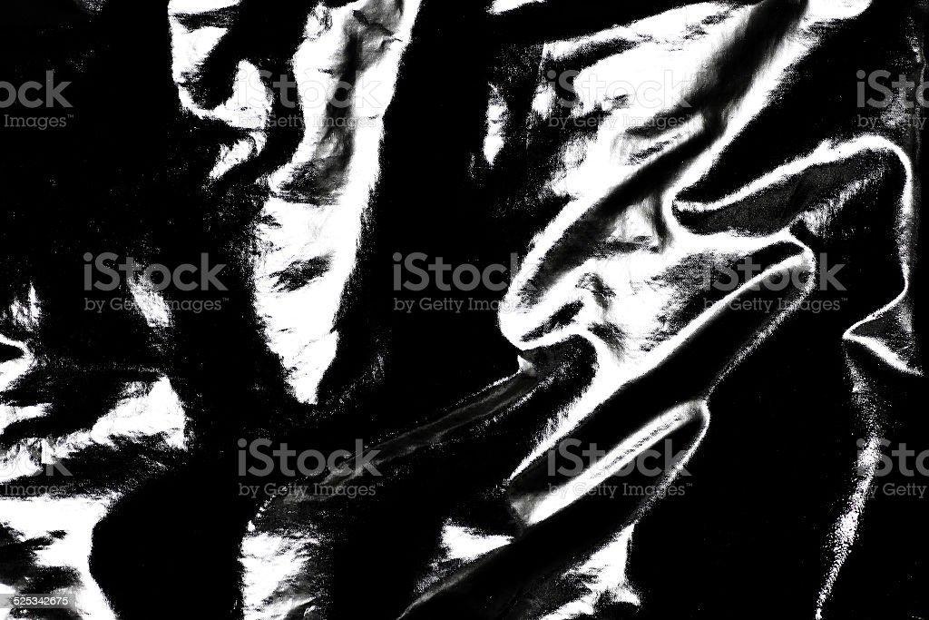 Black Pvc Leather Background stock photo