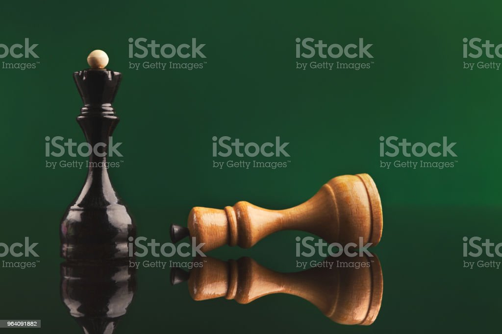 Black Queen wins - Royalty-free Backgrounds Stock Photo