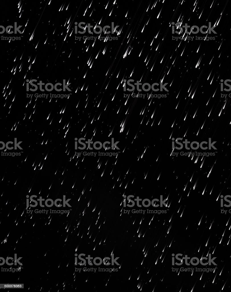 Black Rain stock photo