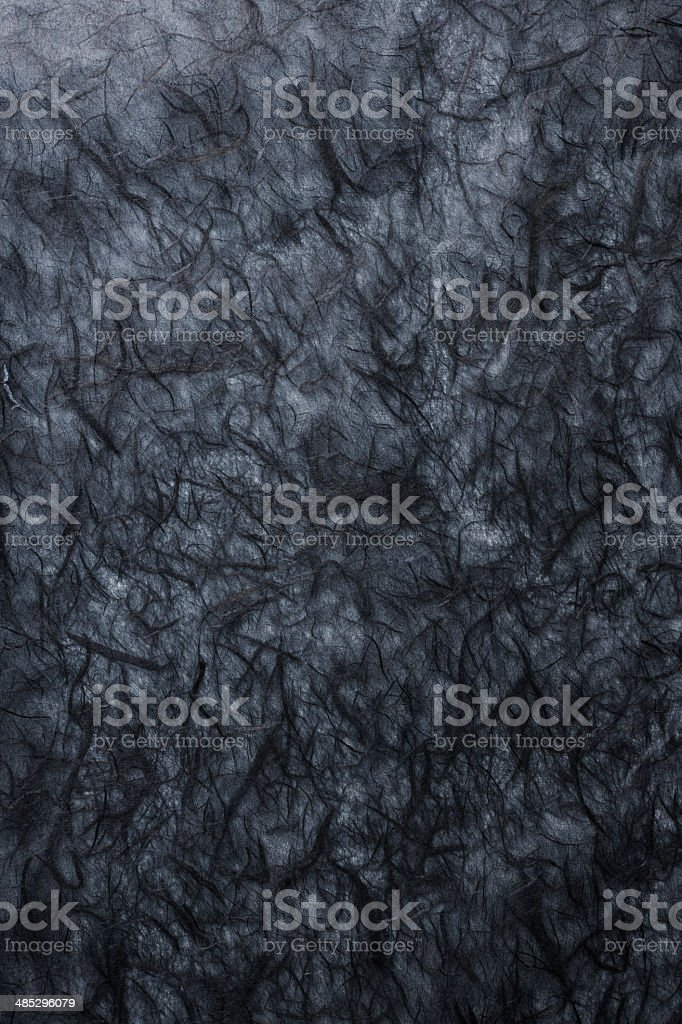 Black rice paper texture background royalty-free stock photo