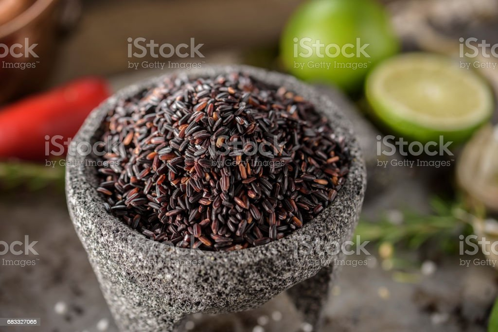 Black Rice foto stock royalty-free