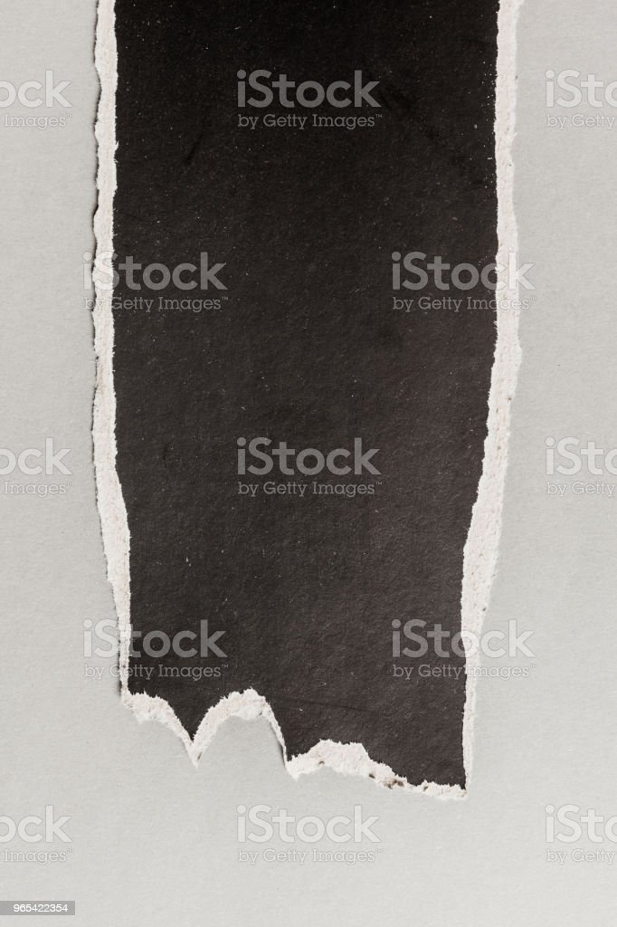 black ripped paper royalty-free stock photo
