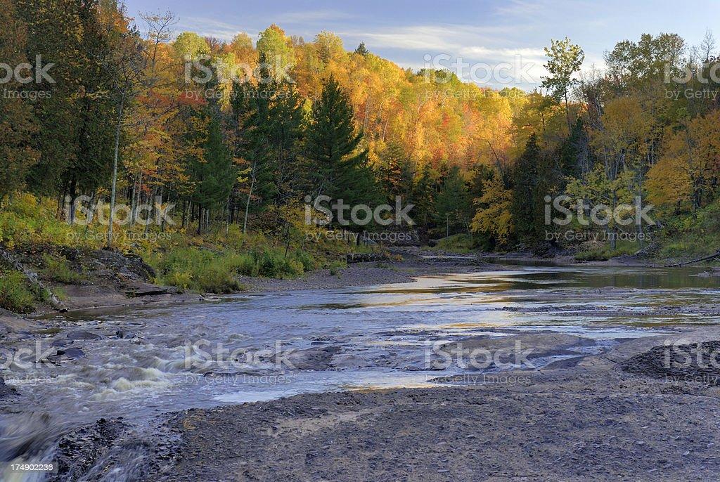 Black River, Ottawa National Forest royalty-free stock photo