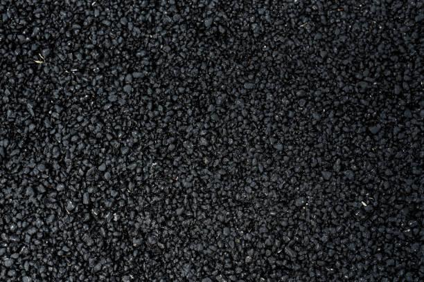 schwarze Straße Asphalt Textur – Foto
