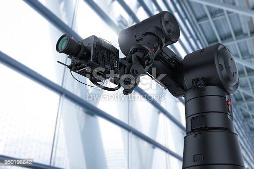 istock black robotic camera 950196642