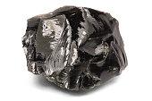Black rock obsidian