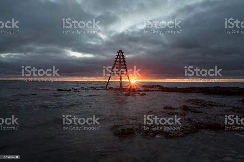 Black Rock, Victoria stock photo