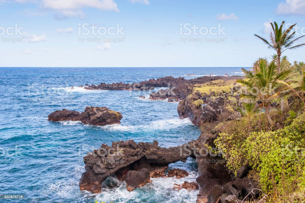 Black Rocks stock photo