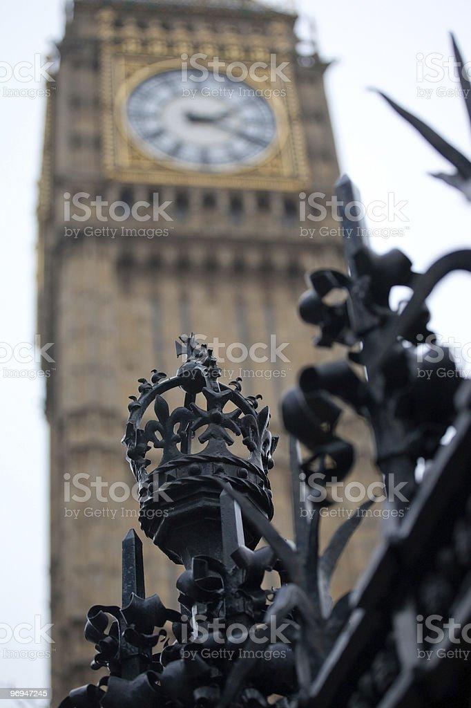 Black Royal Crown royalty-free stock photo