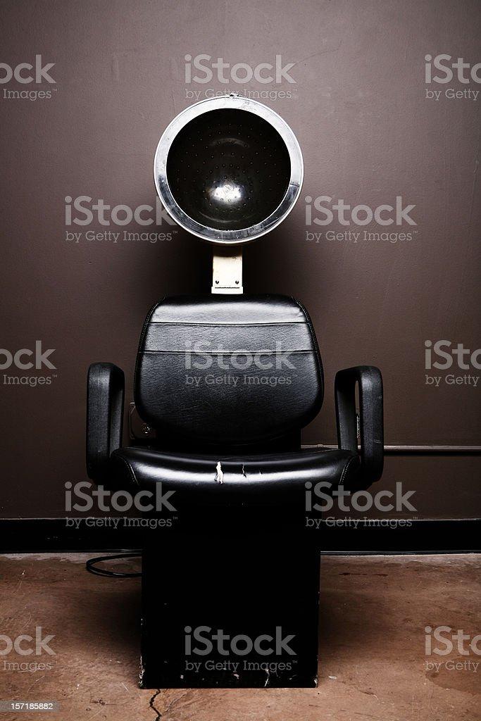 Black Salon Hair Dryer royalty-free stock photo