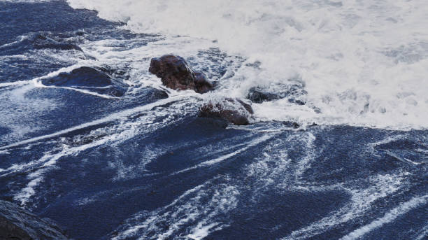 Black sand of Tenerife, Canary Islands, Spain 1 stock photo