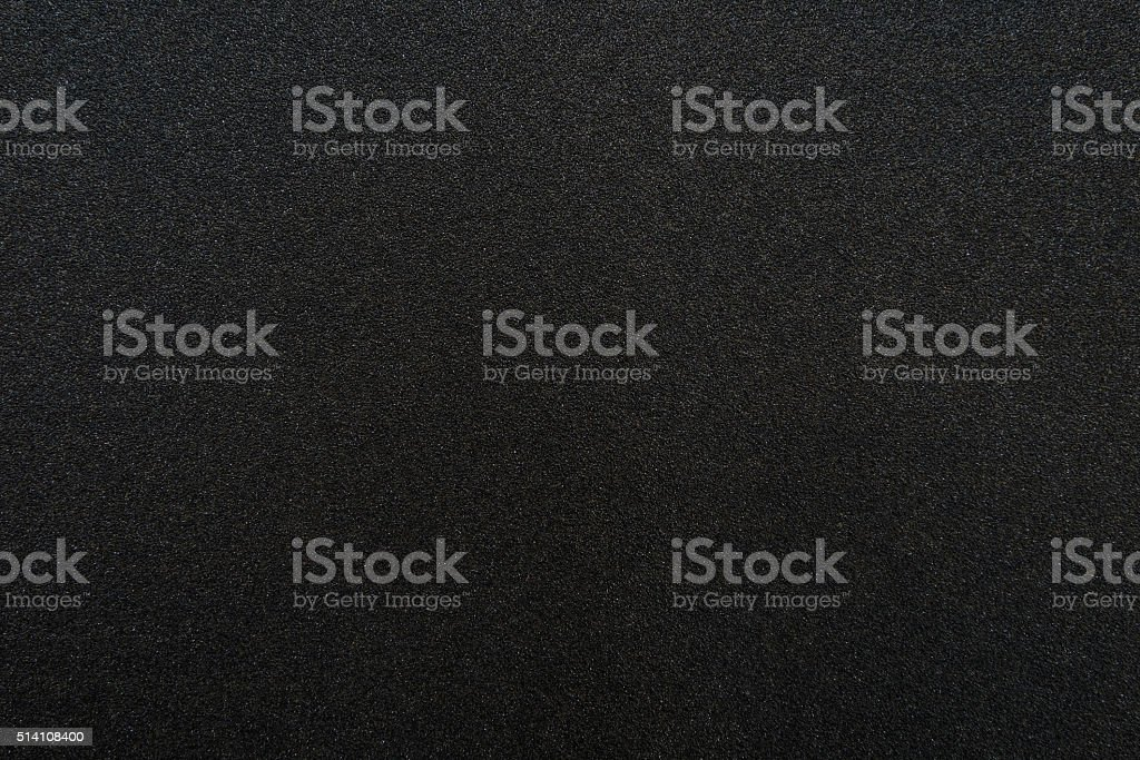 Black sandpaper texture - Royalty-free Abstract Stock Photo