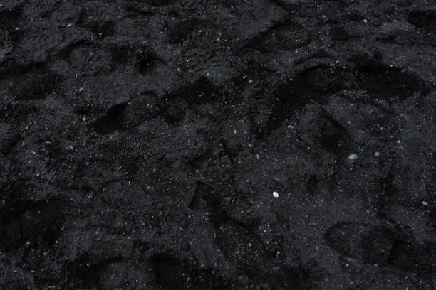 Black sands of Vik It was harder than I thought to take the proper picture, but here you have it. black sand stock pictures, royalty-free photos & images