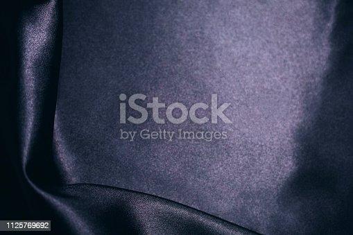 682260934istockphoto Black satin background 1125769692