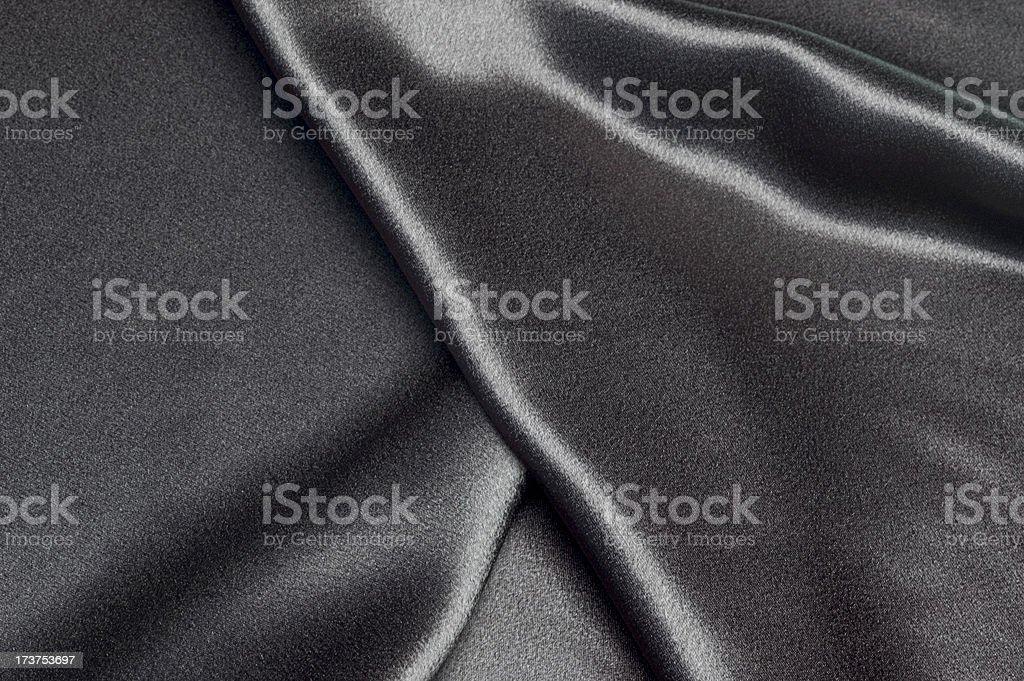 Black Satin royalty-free stock photo
