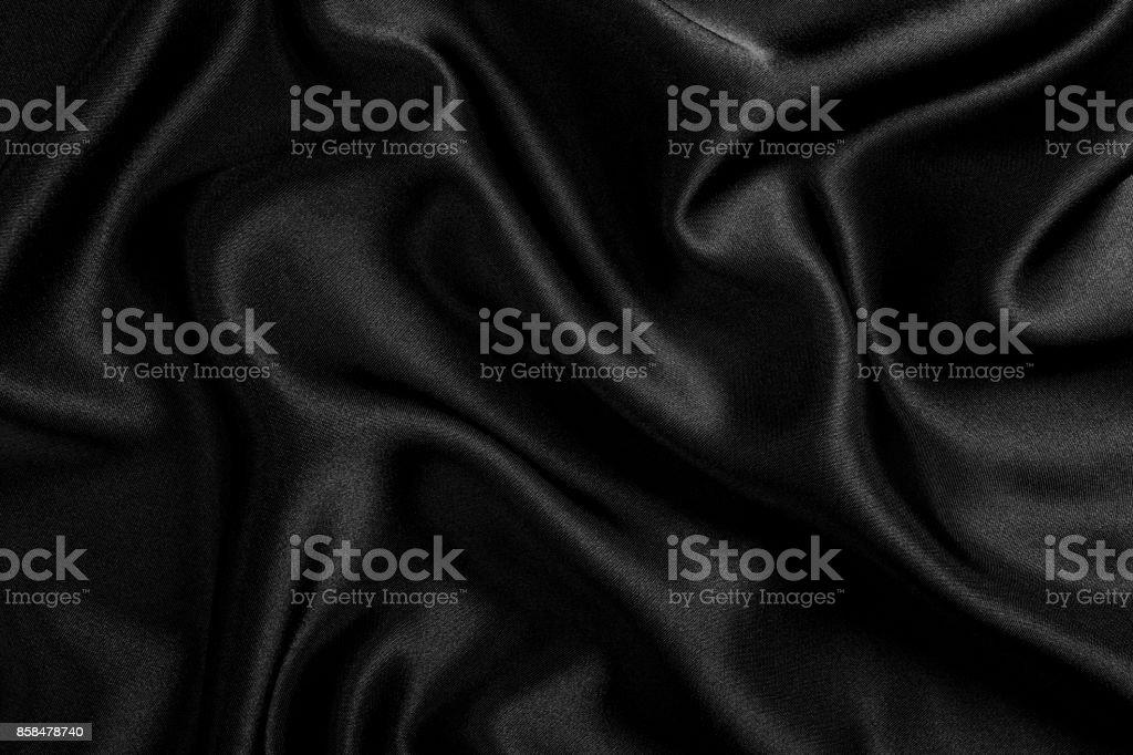 Black Satin stock photo