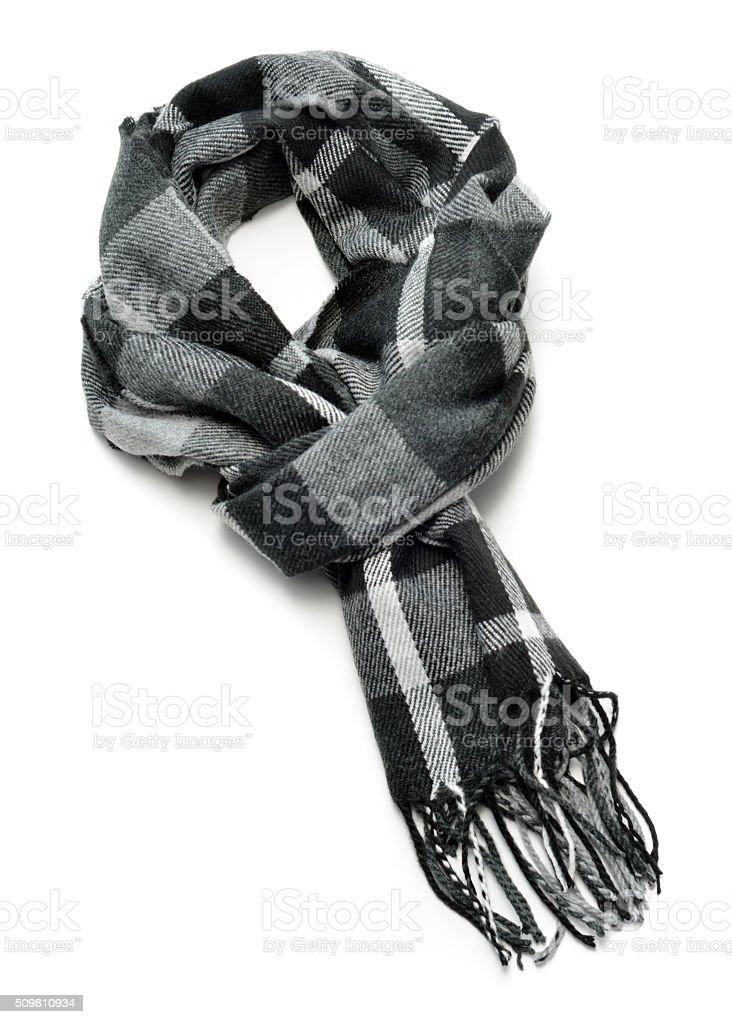 Bufanda negro - foto de stock