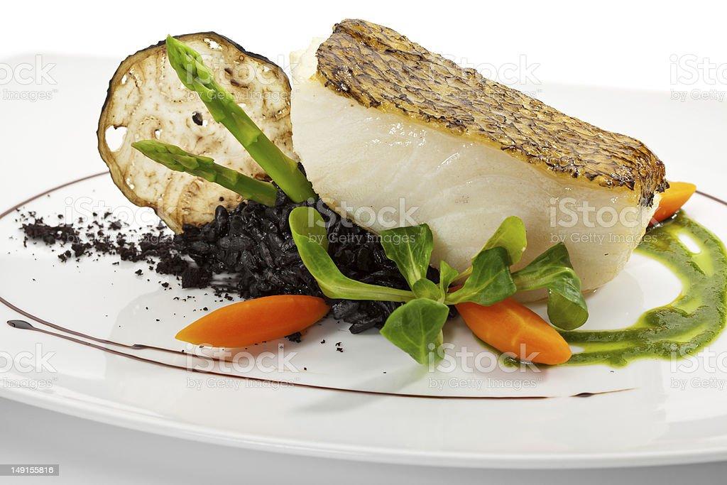 Black Sea Bass stock photo