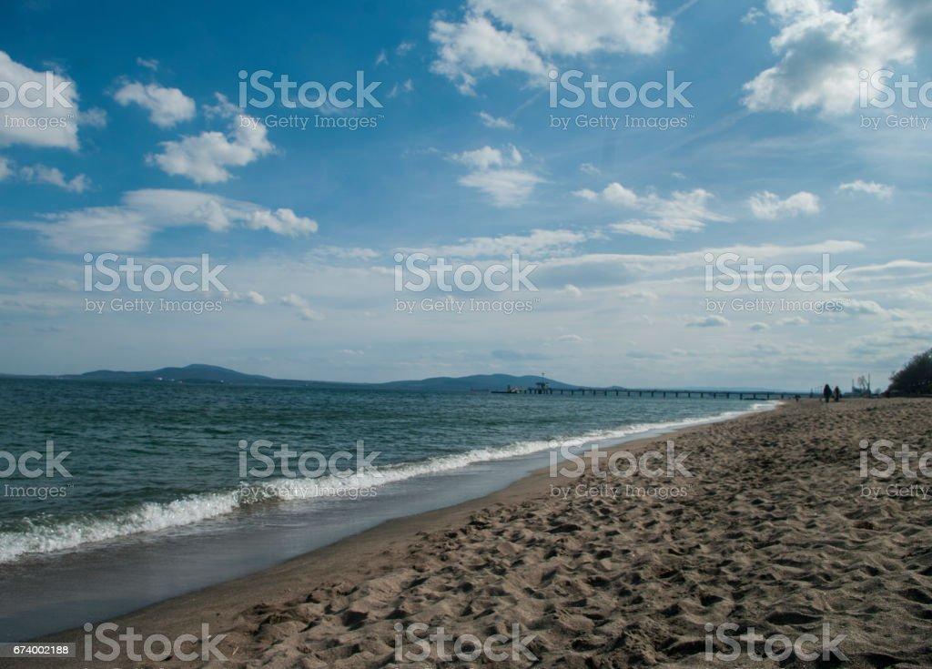 Black Sea, Bulgaria royalty-free stock photo