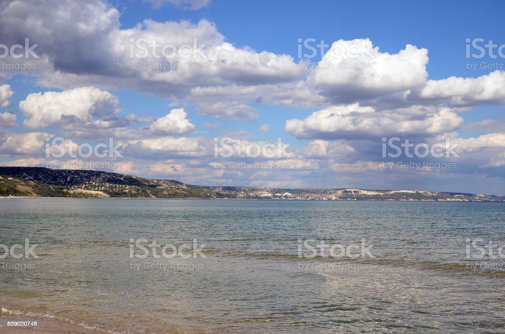 Black sea coast royalty-free stock photo