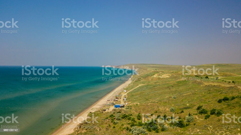 Black Sea coast stock photo